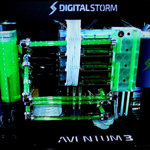 Digital Storm's pipes are cooler than yours