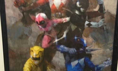 Saban and Boom! Studios hold a special Mighty Morphin Power Rangers #0 launch event