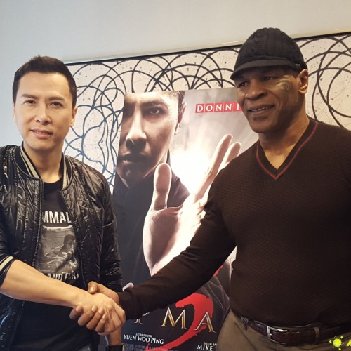 Donnie Yen and Mike Tyson have created a strong bond during Ip Man 3