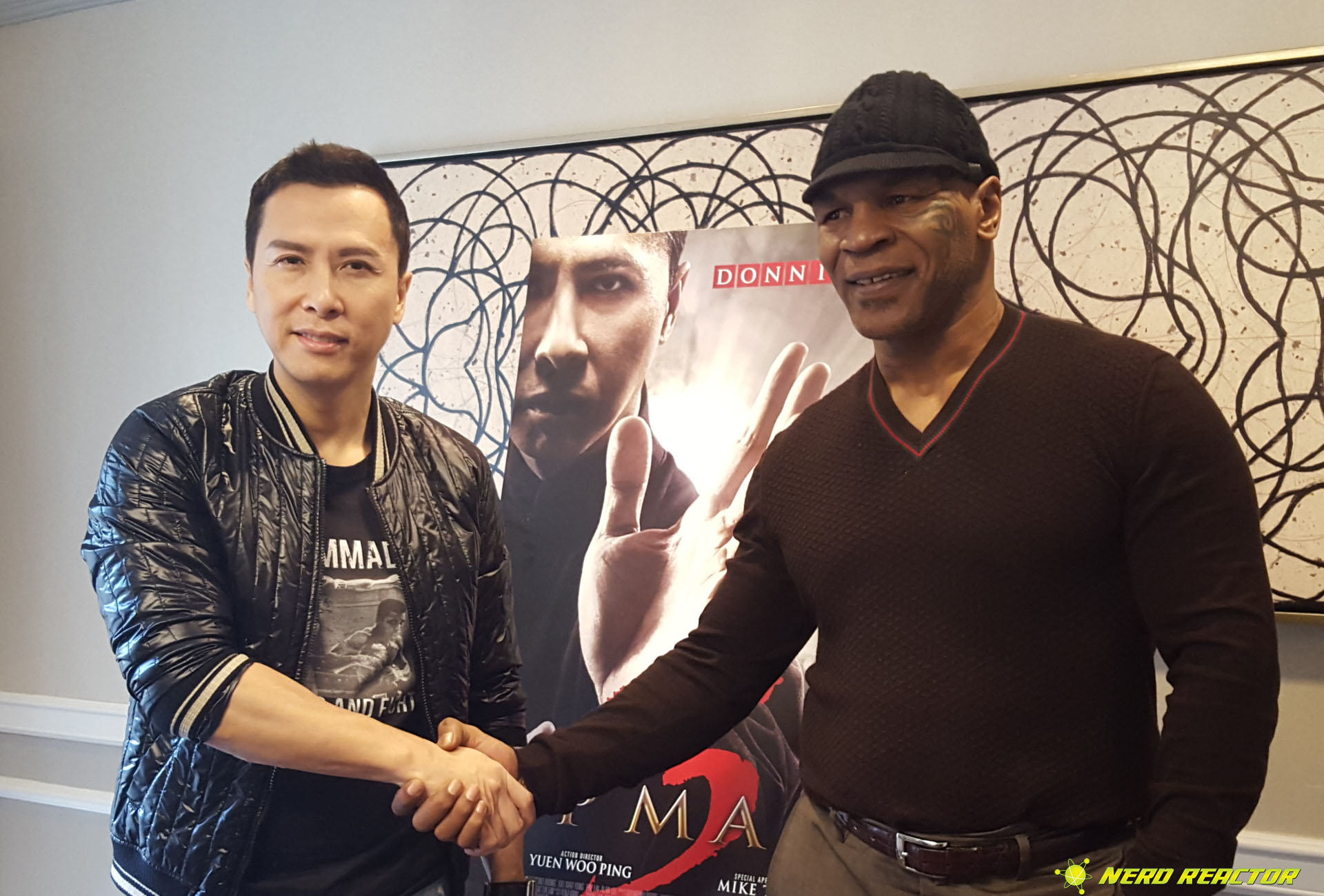 Donnie Yen And Mike Tyson Have Created A Strong Bond