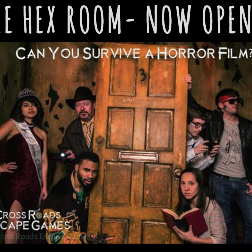 The Hex Room is a new type of horror escape room experience