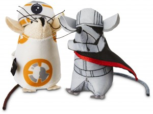 Star Wars Droid and Storm Trooper Mice for Cats $4.99