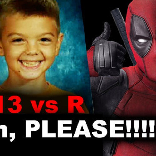 Kid inspires petition to make Deadpool PG-13 version