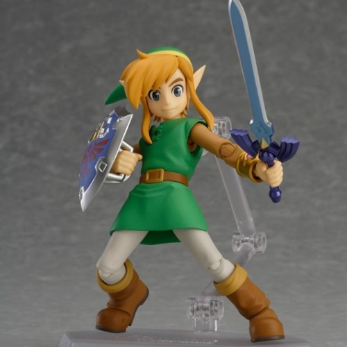 The Legend of Zelda: A Link Between Worlds Link Figma will be released in two versions