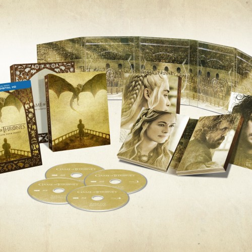 Game of Thrones season 5 coming to Blu-ray March 15