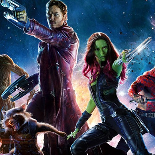 Free outdoor presentation of Guardians of the Galaxy in Orange County on March 19