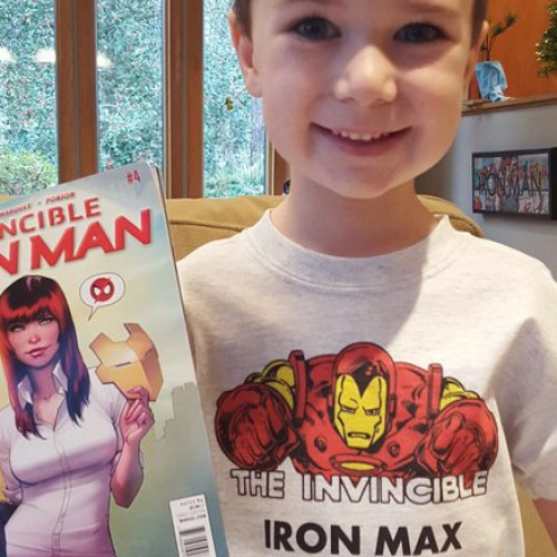 Marvel turns boy with hemophilia into a superhero, Iron Max