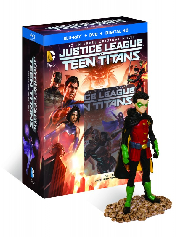 justice league vs teen titans BD Deluxe 3