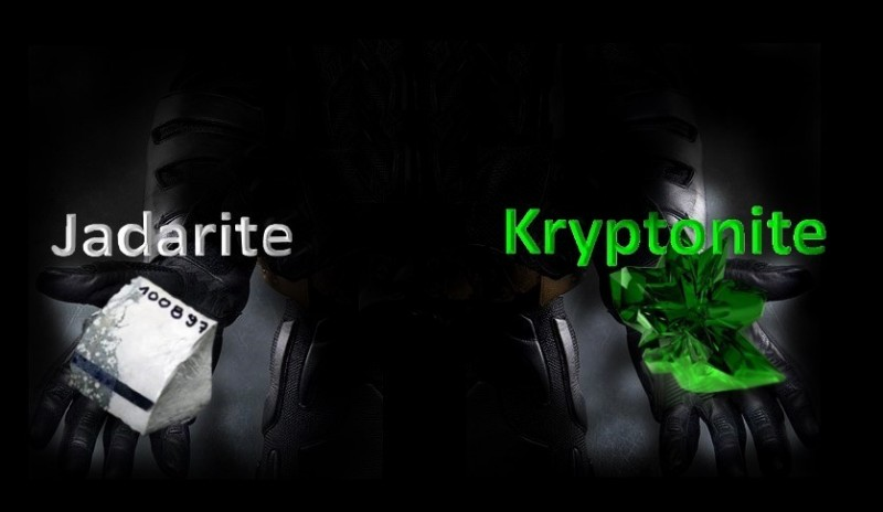 kryptonite jadarite