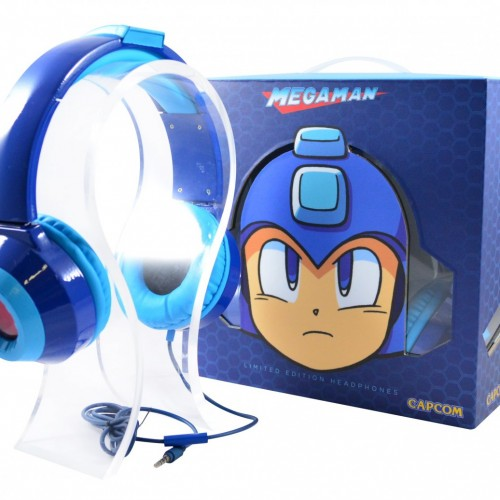 Rock out with these Mega Man HD LED Headphones