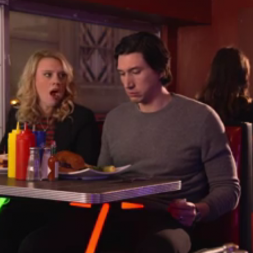 'Star Wars' star Adam Driver shows us his funny side in Saturday Night Live promos