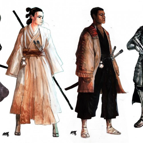 Feudal Japan inspires Star Wars: The Force Awakens