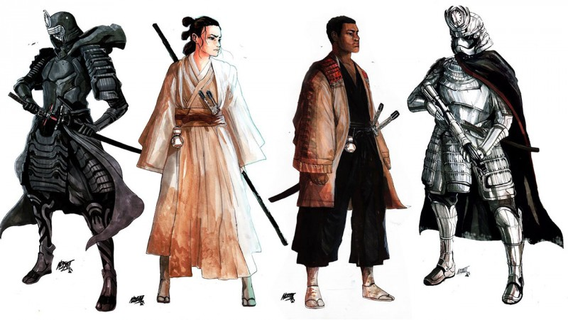 star wars force awakens feudal japan thumb