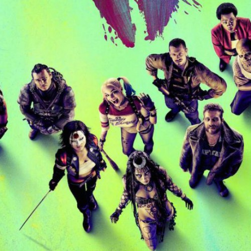 New Suicide Squad poster has the team together with Joker to the side