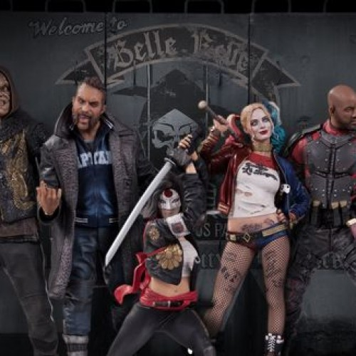 Suicide Squad statues look menacing and sexy