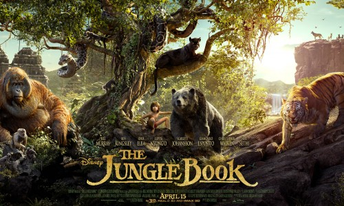 First poster for Disney's The Jungle Book debuts