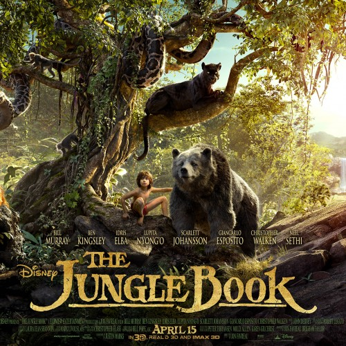 New Jungle Book clips, Bill Murray sings 'Bare Necessities'