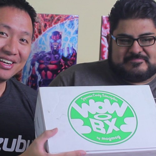 Mogmog's WowBox Japanese candy unboxing