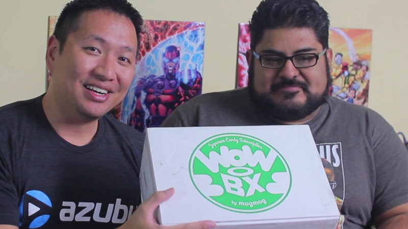 wowbox japanese candy unboxing