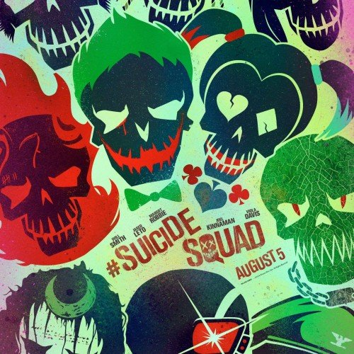 New Suicide Squad posters released including Joker and Harley Quinn