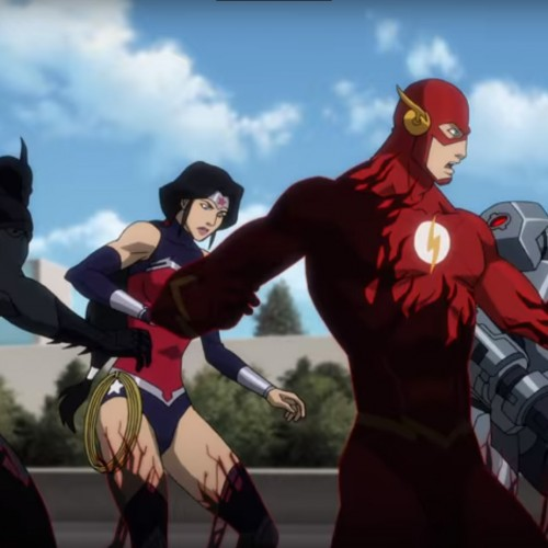 DC animated movie 'Justice League vs. Teen Titans' gets a trailer