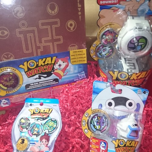 Yo-Kai Watch toy line from Hasbro -review