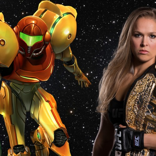 Ronda Rousey wants to play Samus in a Metroid movie