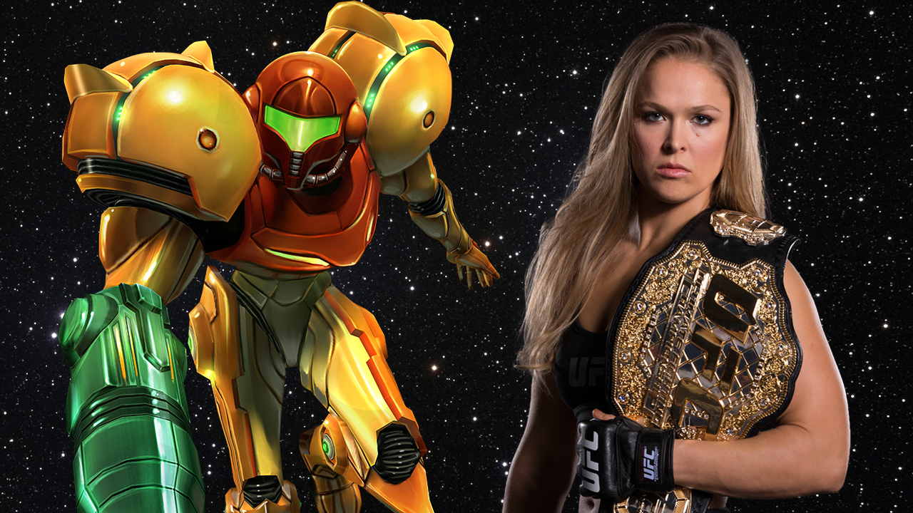 Ronda Rousey Wants To Play Samus In A Metroid Movie Nerd
