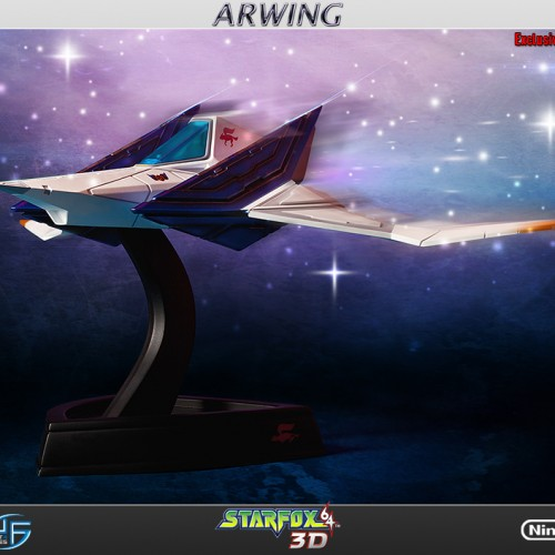 Star Fox team is a go with Arwing statue from First 4 Figures