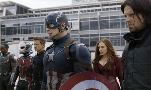 Hear the cries of war with the Super Bowl trailer for 'Captain America: Civil War'