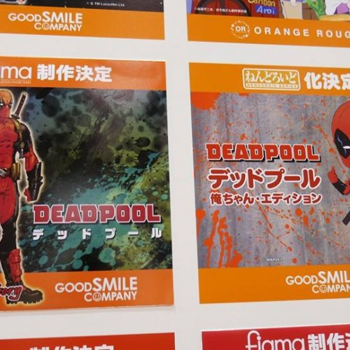 Deadpool, Samus, Kylo Ren and One-Punch Man, oh my! Good Smile Company at Won Fest 2016
