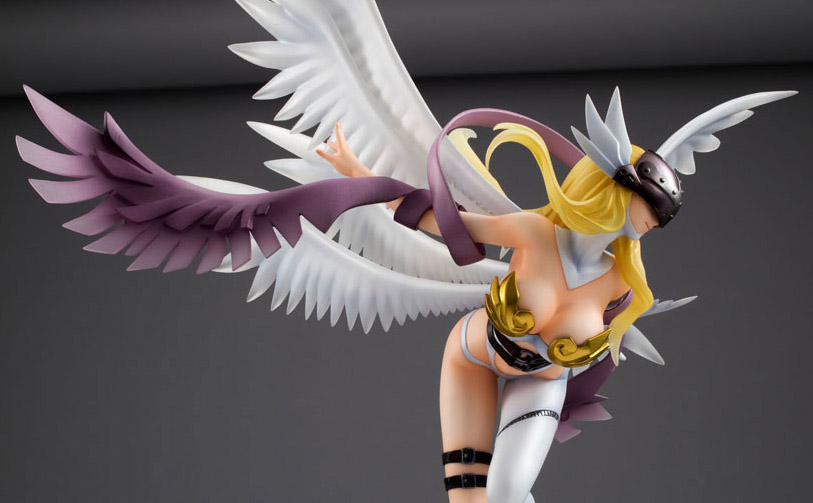 Megahouse's Digimon's Angewomon figure too sexy to be ...
