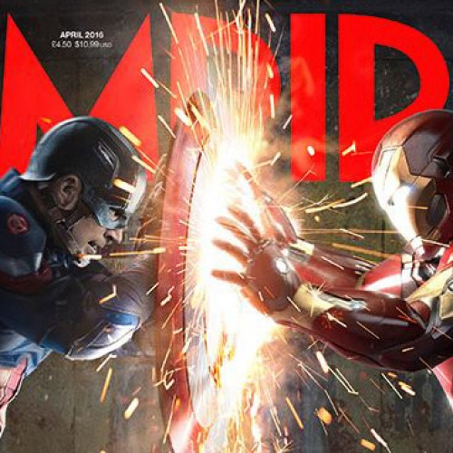 Captain America and Iron Man battle in new Empire cover