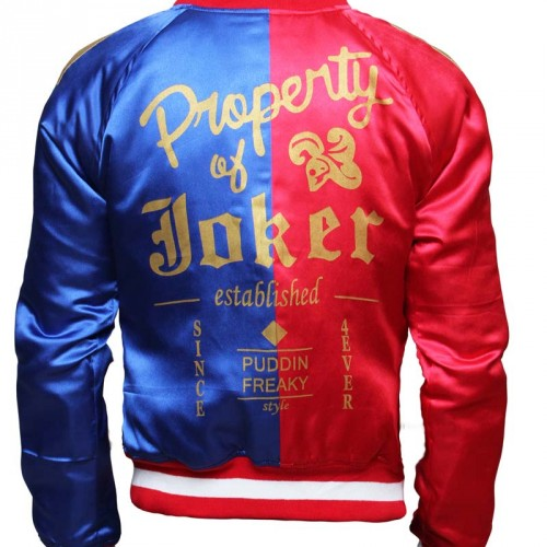 Be like Harley Quinn with this Suicide Squad jacket
