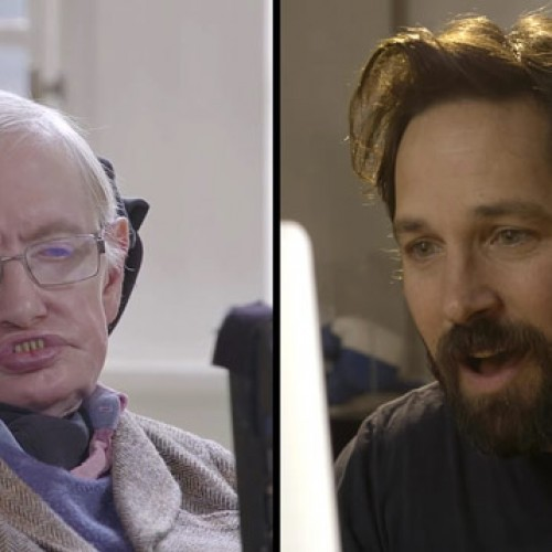 Paul Rudd facing off with Stephen Hawking in a quantum chess match is as good as it sounds