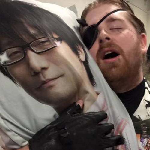 Hideo Kojima body pillows are a thing