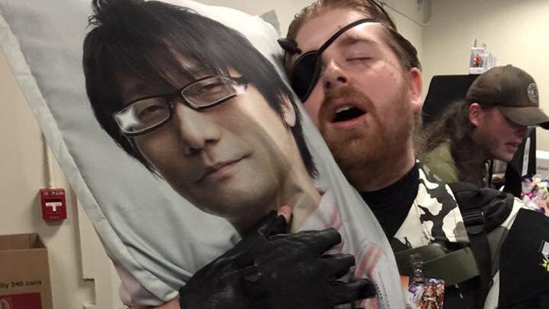 hideo kojima body pillow