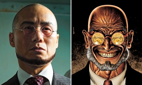 First look at BD Wong as Dr. Hugo Strange in Gotham