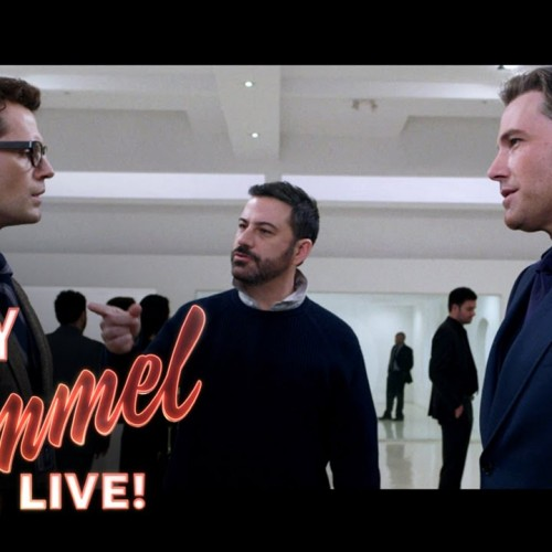 Jimmy Kimmel's parody scene in Batman v Superman is everything we need