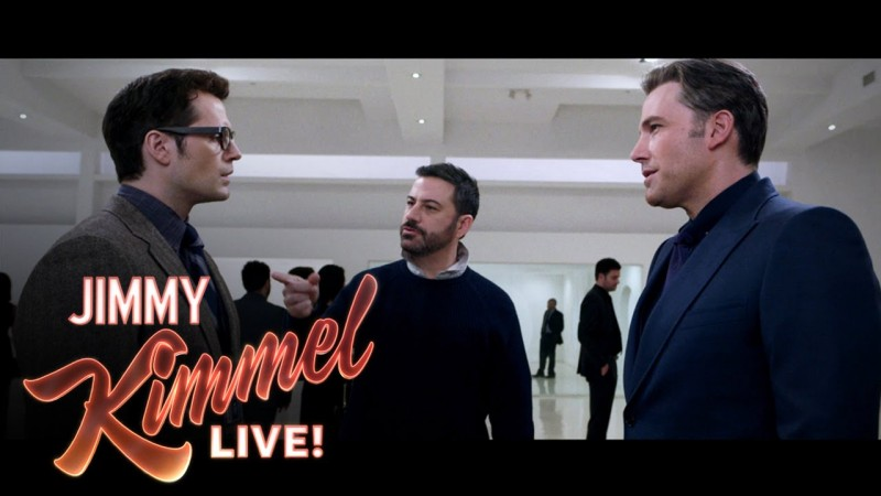 jimmy kimmel batman v superman