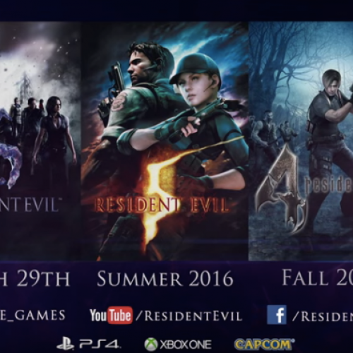 Resident Evil 4, 5, and 6 coming to PS4 and Xbox One this year