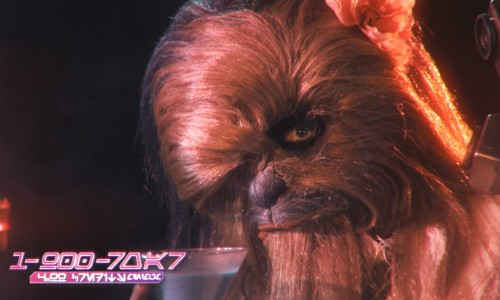 Late night ad for sexy Wookiee hotline
