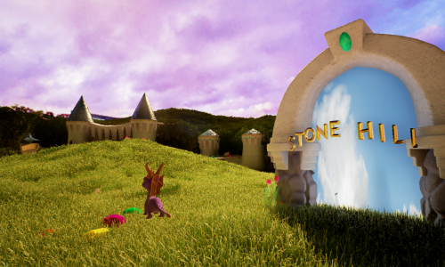 Spyro the Dragon gets recreated in Unreal Engine 4