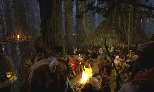 Yes, there's an acoustic cover of the Star Wars 'Yub Nub' Ewok Celebration song