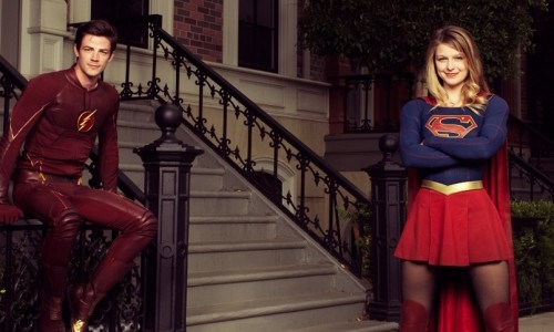 First photo from The Flash and Supergirl crossover