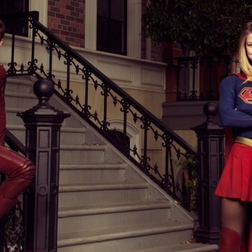 Grant Gustin reveals title for Supergirl and The Flash crossover