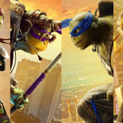 The turtles look over Manhattan with new Teenage Mutant Ninja Turtles: Out of the Shadows posters