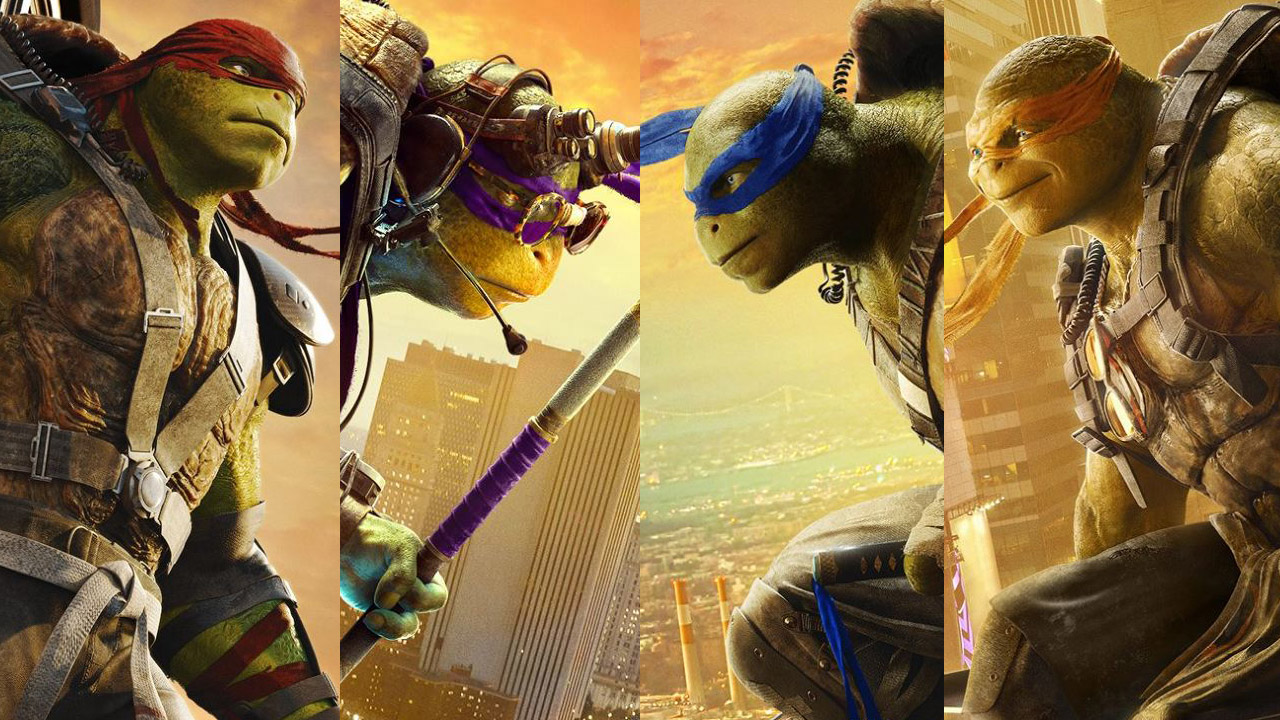 The Turtles Look Over Manhattan With New Teenage Mutant Ninja Turtles Out Of The Shadows Posters Nerd Reactor