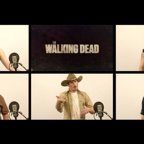 The Walking Dead theme gets an a cappella version