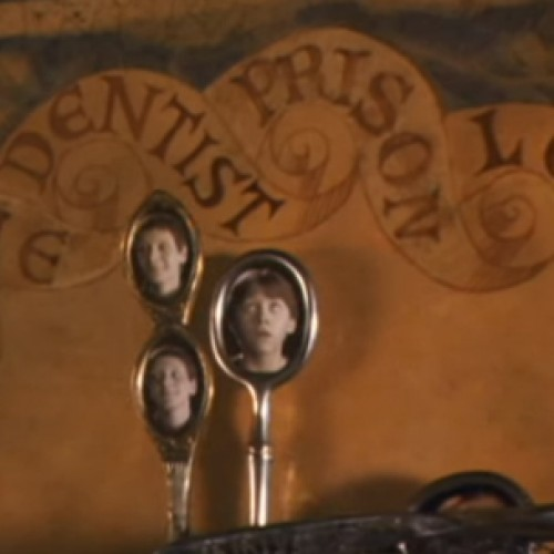 Someone made a real, working Weasley family clock from Harry Potter